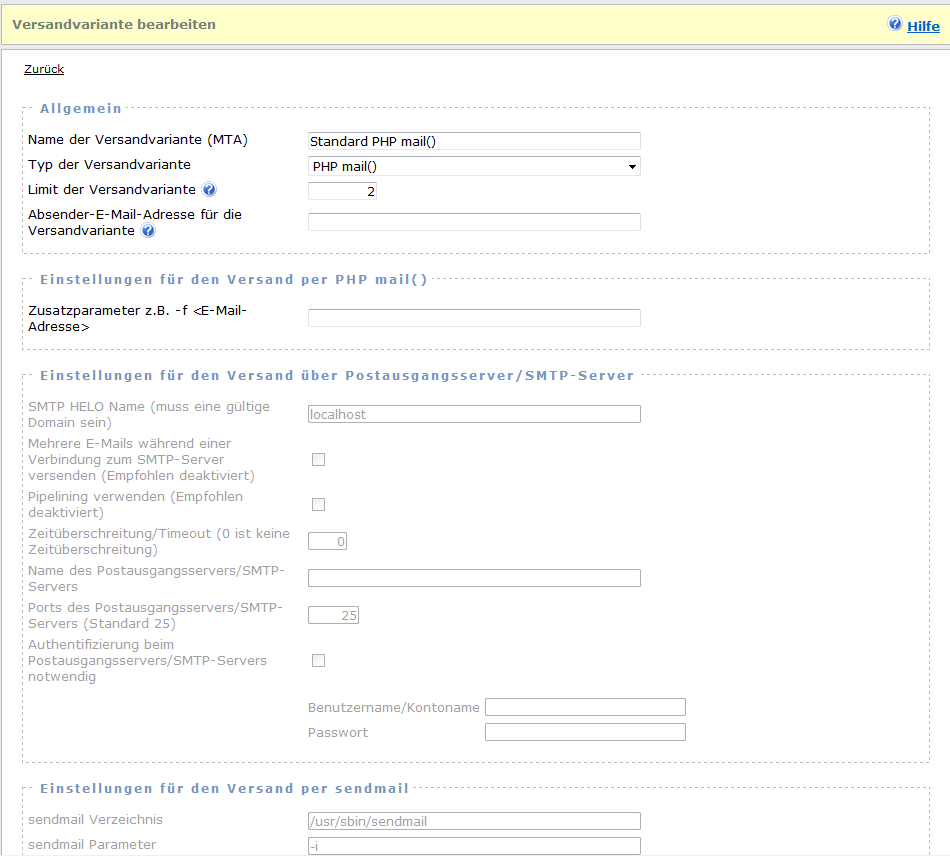 PHP Newsletter Software und E-Mail-Marketing Software ...
